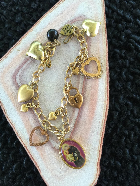 st francis of assisi charm bracelet charm bracelet