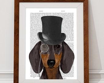 dachshund top hat | etsy