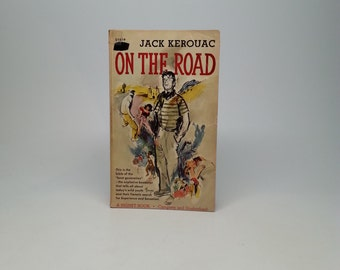 First Edition On The Road by Jack Kerouac - Signet 1958 Paperback Book