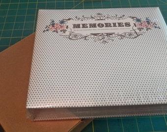 Scrapbook Album - 6 x 6 with 10 sleeves