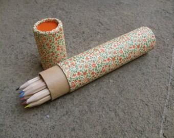 colored pencils florentine paper pencils pencils marbled paper