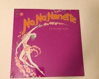 No No Nanette, The New 1925 Musical LP, Columbia-30563 Original Cast Recording, NEW Vintage LP