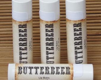 Butterbeer Lip Balm - Handmade All Natural Lip Balm - Homemade Lip Balm