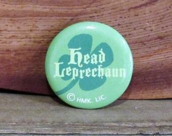 Head Leprechaun Pin, Hallmark