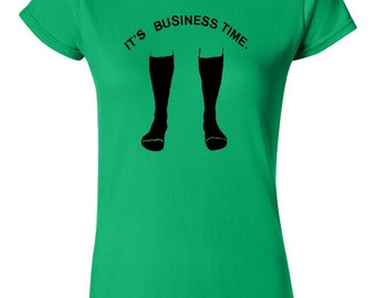 It's business time T Shirt Funny Flight of the Conchords inspired Men's Women's