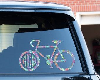 Cycling Decal Etsy - Cycling custom vinyl decals for car