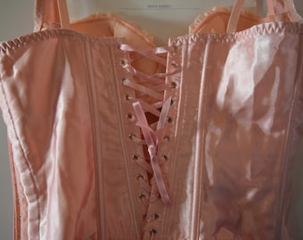 Baby Doll Pink Corset Bustier