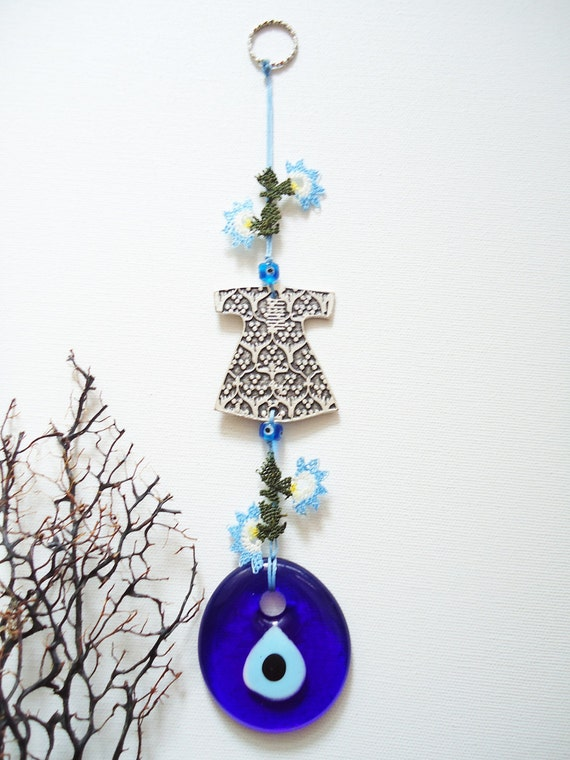 Evil Eye Decoration Wall Hanging : Turkish evil eye wall hanging for garden home