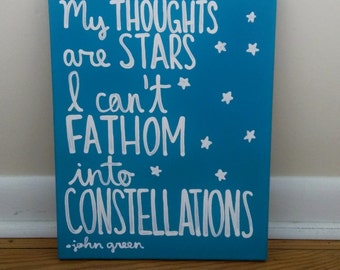 The Fault In Our Stars Canvas Art