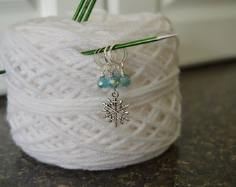 Let It Snow Stitch Markers