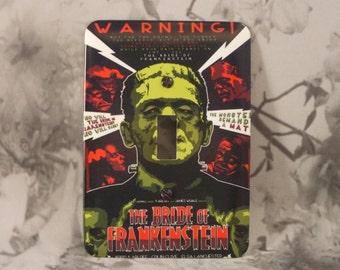Metal Frankenstein Light Switch Cover - The BRIDE of FRANKENSTEIN - 1T Single Toggle