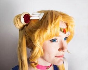 Sailor Moon PGSM Gold Trim Odango Shields