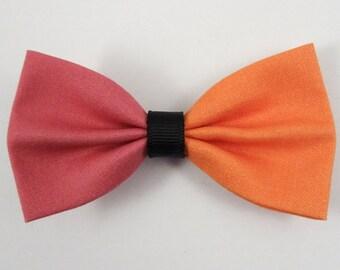 Pink & Orange Hair Bow