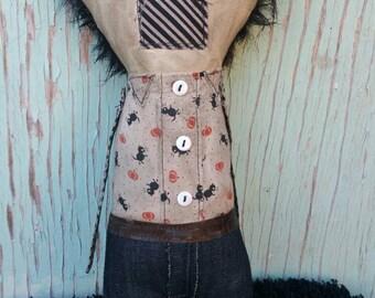 Charlie Handmade Art Doll