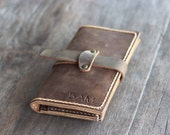 iPhone 6 Wallet Case PERSONALIZED Wallet - iPhone 6 Leather Wallet Case - JooJoobs Original Design --- 006