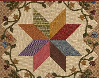 Pattern Book: Blooming Patchwork - A Celebration of Applique in Quilts by Deanne Eisenman