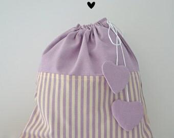 Baby pyjama bag bag-pink
