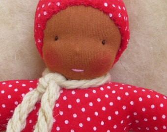 """Waldorf doll / Waldorf soft   cuddle doll 10"""""""