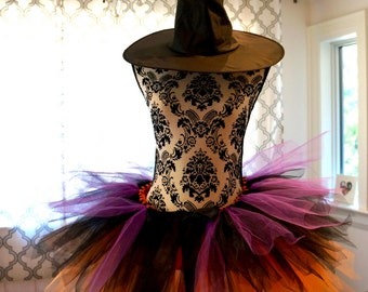 Adult Witch Tutu - Halloween Tutu