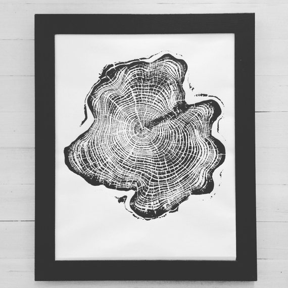 Alaskan Cedar Tree, Tree ring Art Print, Tongass National Forest, Christmas gift, Thanksgiving art, holiday art, gifts, Christmas tree art