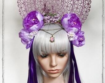Flower Headdress (Fairy, Goddess, Roses )