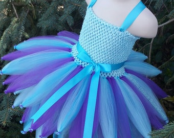 PICK YOUR COLORS! Customizable Fairy Tutu Dress, Fairy Inspired Dress, Fairy Costume, Abby Cadabby Costume, Fairy Wedding, Fairy Dress