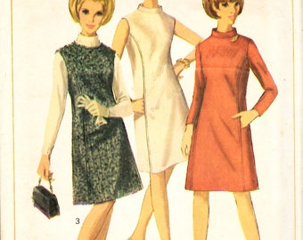 Simplicity 6676 Misses One Piece Dress or Jumper Sewing Pattern