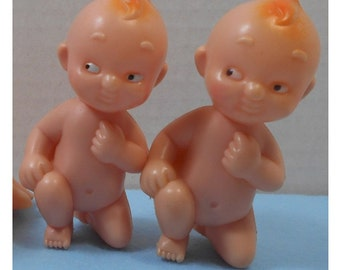 Vintage Baby Shower Plastic Blow Mold Baby Decoration