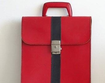 Retro Leather Ivoli Briefcase, Alternative Type Briefcase
