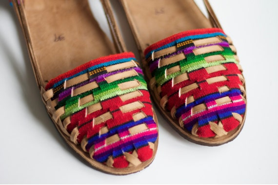 Huarache Sandal, Handmade in Nicaragua - Size 39