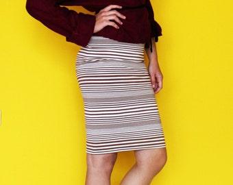 SALE!!!! Women skirt; Pencil skirt; Midi pencil skirt; Adjustable skirt; Cotton skirt; Women midi skirt; Stretch Cotton Pencil Skirt