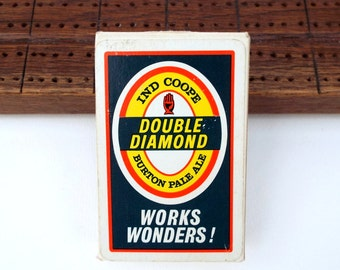 Double Diamond Card Deck by John Waddington, British beer and ale breweriana card games