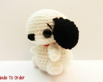 Crochet Chibi Snoopy Puppy