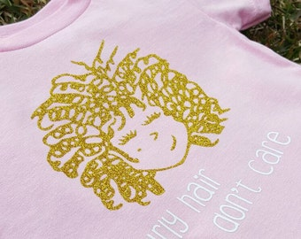 Adorable Curly Hair Don't Care: Gold