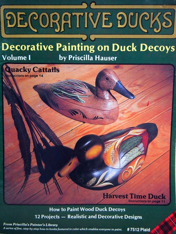 hen mallard duck decoy painting instructions