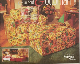 Vogue Pattern-Kid's Foam Furniure