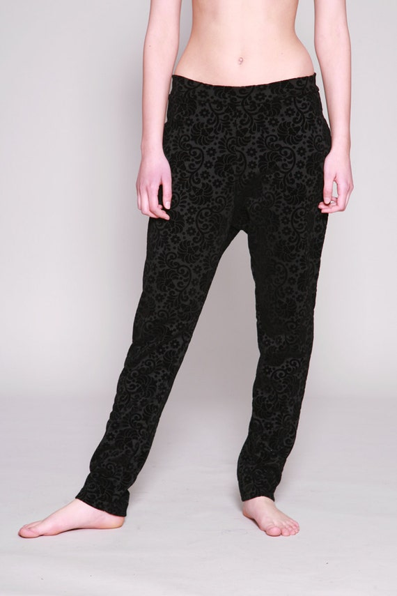 Wonderful The Fifth  You And Me Drop Crotch Pants Black  Neverland Store