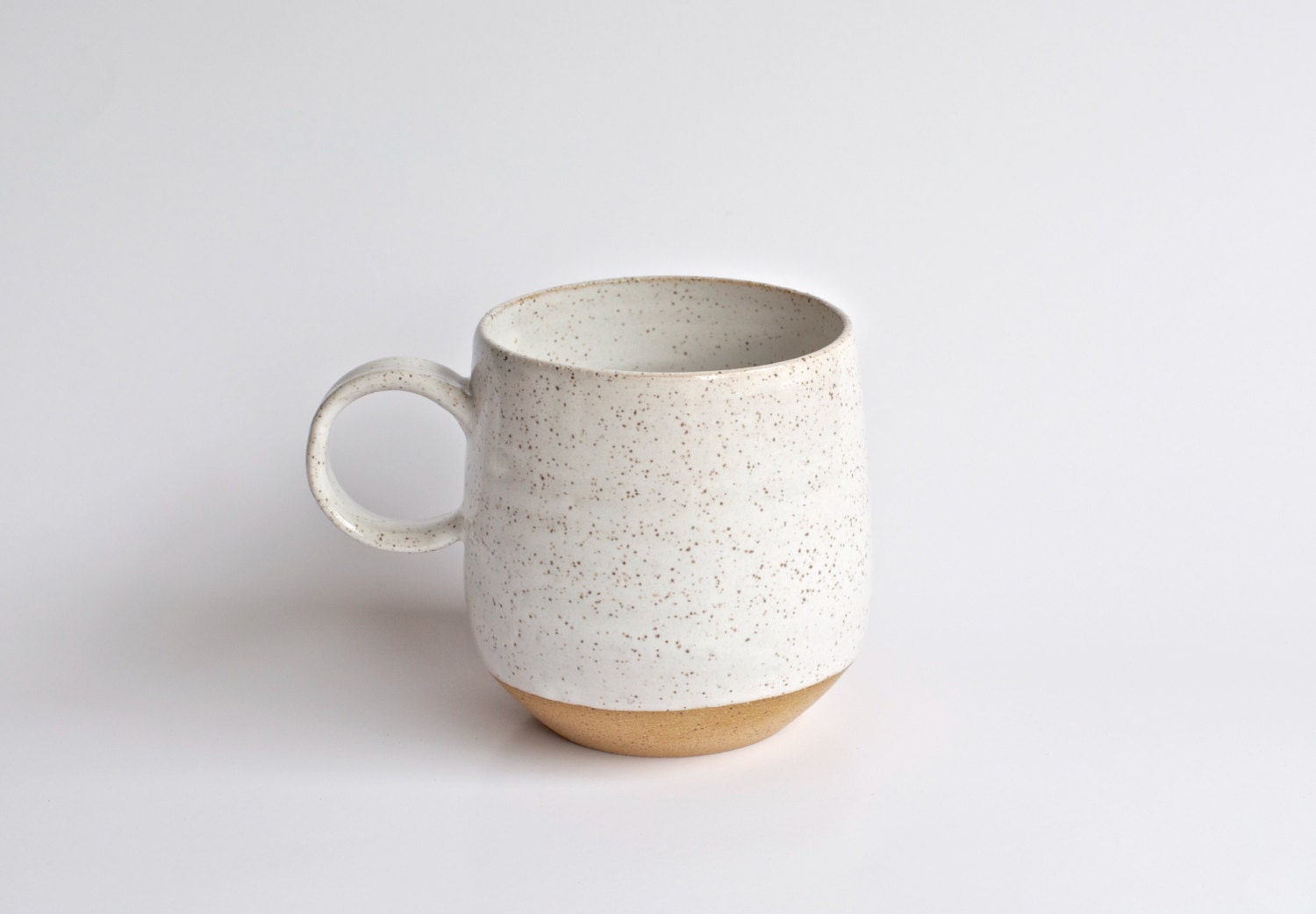 Coffee mug ready to ship handmade pottery mug modern for Handmade mug designs