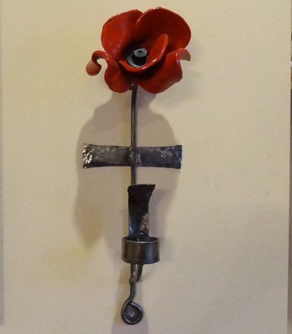 Wall Bracket To Display Your Tower Of London Poppy WITH Tea