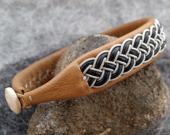 Tenntrådsarmband, Pewter bracelet, Sami bracelet, Swedish bracelet, Sami craft, Nordic craft