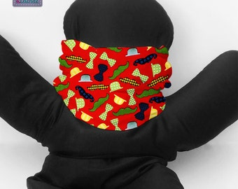 Tube neck warmer for kids or adults. B_109
