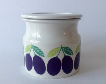 Arabia Finland Pomona Jam Jar