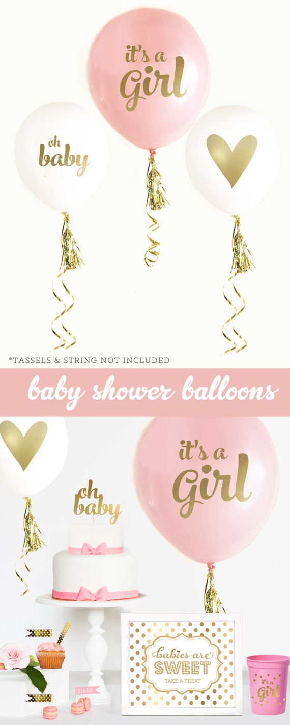 Baby shower decorations girl baby shower ideas baby for It s a girl dekoration