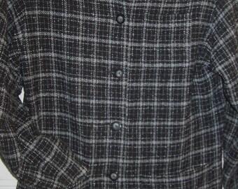 Vintage Ruff Hewn Versatile Wool Blend Jacket Size Small  - Med