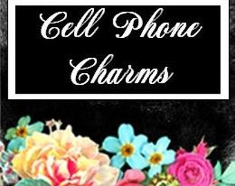 Cell Phone Charms Section Marker