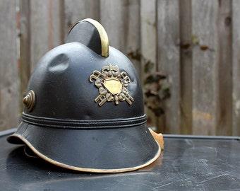 Vintage Fire Helmet circa 1930