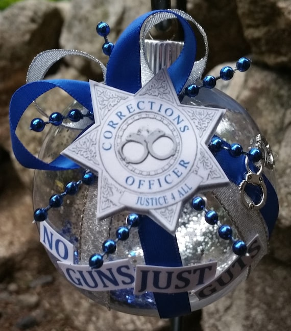 Correctional Corrections Officer Christmas By Beautifulballs