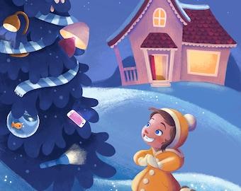 Holiday Lights Print