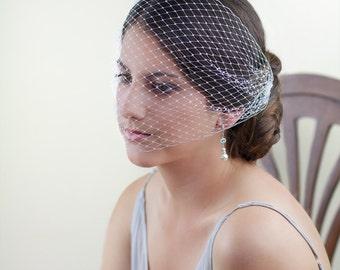 Birdcage veil, Blusher veil