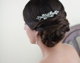 Bridal comb, Wedding Accessories, Kaylee Bridal Headpiece, Wedding headpiece, Pearl and crystal Headpiece, Bridal Hair Jewelry
